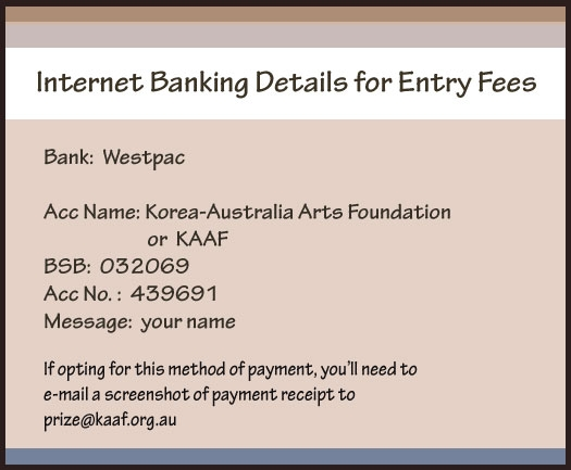 For Direct Deposit of Entry Fees